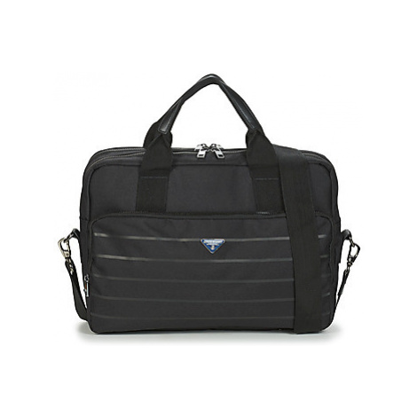 Serge Blanco GOLDEN EAGLE men's Briefcase in Black