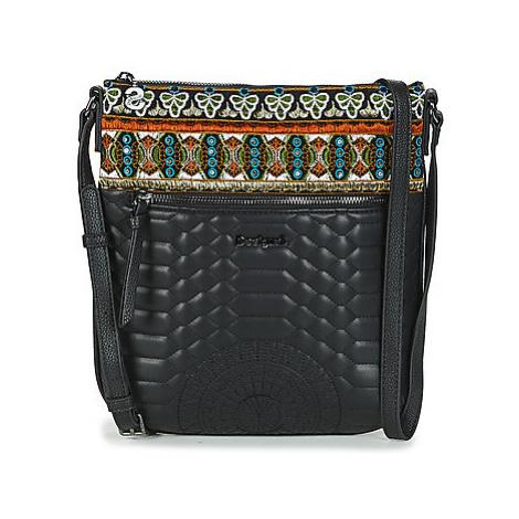 Desigual UNIQUE KAKI KAUA women's Shoulder Bag in Multicolour