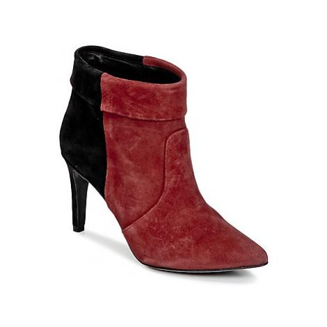 Ikks MIRANDA REVERS women's Low Ankle Boots in Bordeaux