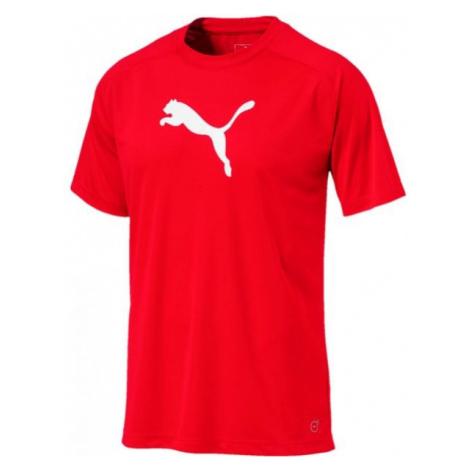 Puma LIGA SIDELINE TEE red - Men's T-shirt
