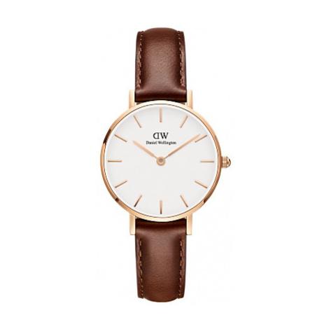 Daniel Wellington Unisex 28mm Leather Strap Watch