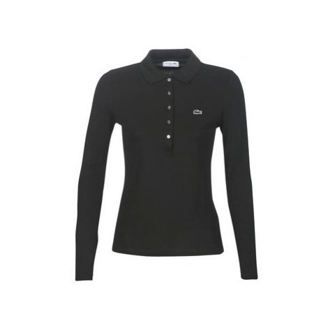 Lacoste PF7841 women's Polo shirt in Black