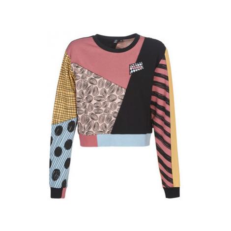 Vans SALLY PATCHWORK CREW women's Sweatshirt in Multicolour