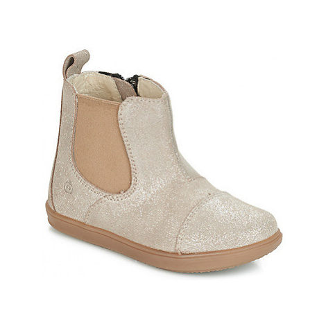 Citrouille et Compagnie FEPOL girls's Children's Mid Boots in Silver