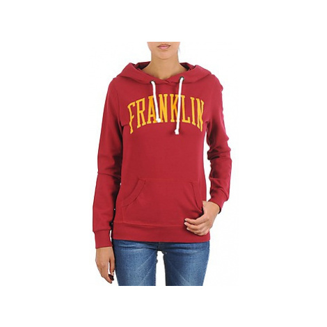 Franklin Marshall TOWNSEND women's Sweatshirt in Red Franklin & Marshall