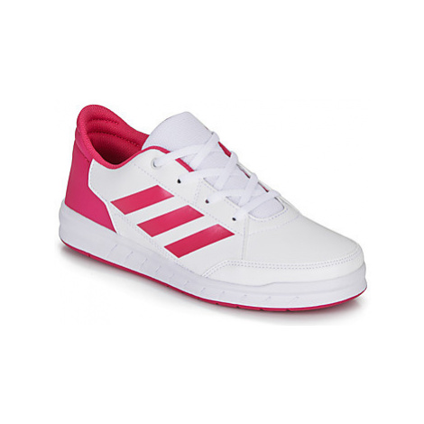 Adidas ALTASPORT K girls's Children's Shoes (Trainers) in White