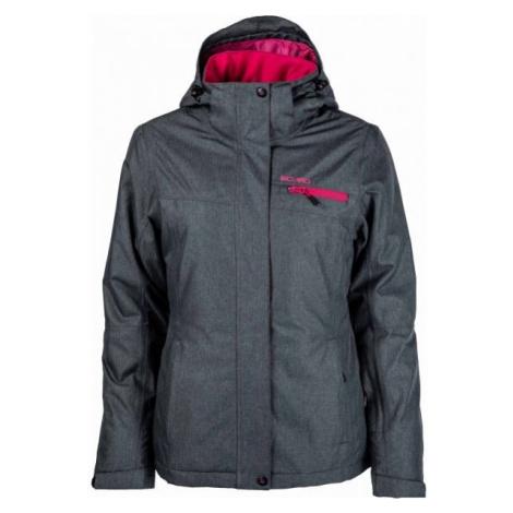 Willard JACKIE dark gray - Women's skiing jacket