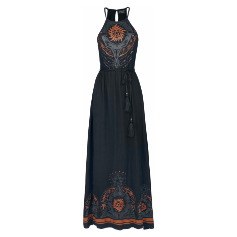 Supernatural - Mandala - Dress - black