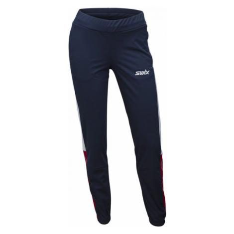 Swix CROSS blue - Women's softshell pants