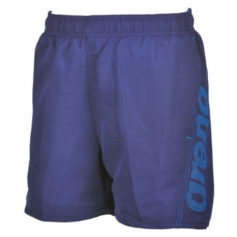 Arena FUNDAMENTALS LOGO JR BOXER blue - Boys' swimming shorts