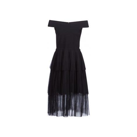Derhy ENCODAGE women's Dress in Black