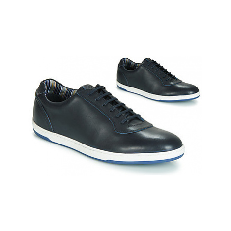 Base London HUSTLE SOFTY men's Shoes (Trainers) in Blue