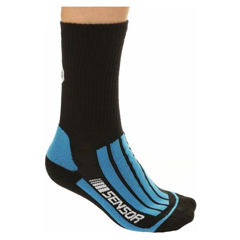 socks Sensor Treking Evolution - Black/Blue