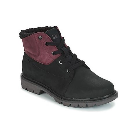 Caterpillar FRET FUR WP women's Mid Boots in Black