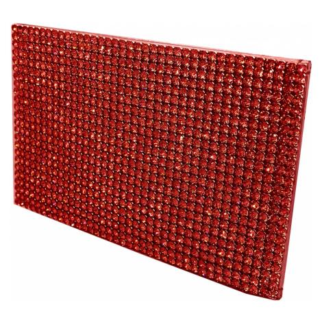 Marina Card Holder, Red Swarovski