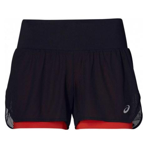 Asics COOL 2-IN-1 SHORT black - Women's 2in1 running shorts