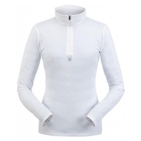 Spyder TEMPTING ZIP T-NECK white - Women's sweatshirt