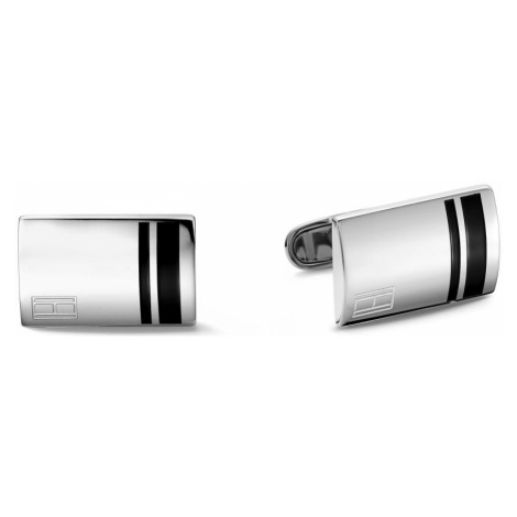 Tommy Hilfiger Jewellery Gents Stainless Steel Fine Core Cufflinks