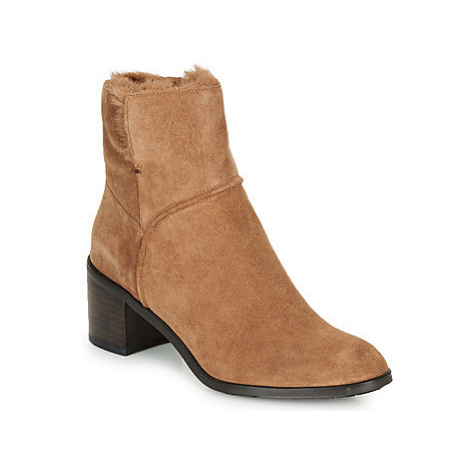 JB Martin BIBLOS women's Low Ankle Boots in Brown