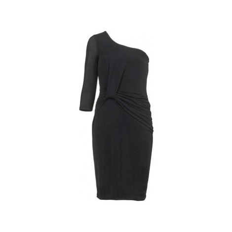 Morgan RONAN women's Dress in Black