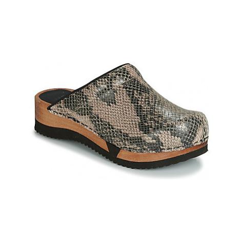 Sanita RUNA women's Clogs (Shoes) in Beige