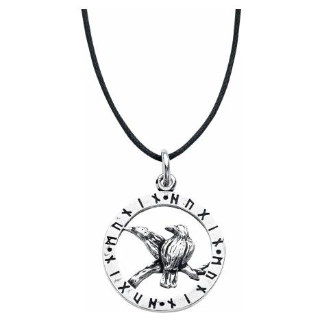 EtNox Magic & Mystic - Odin's Raven - Necklace - silver-coloured