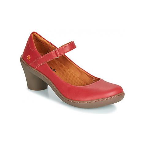 Art ALFAMA women's Court Shoes in Red