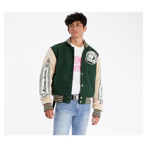 Billionaire Boys Club Astro Varsity Jacket Green/ Off White