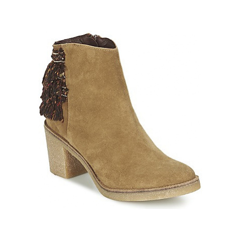 Miista BRIANNA women's Low Ankle Boots in Brown
