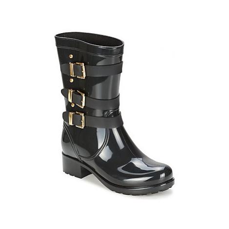 Lemon Jelly BLAZE women's Wellington Boots in Black