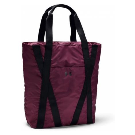 Under Armour ESSENTIALS ZIP TOTE purple - Women's tote bag