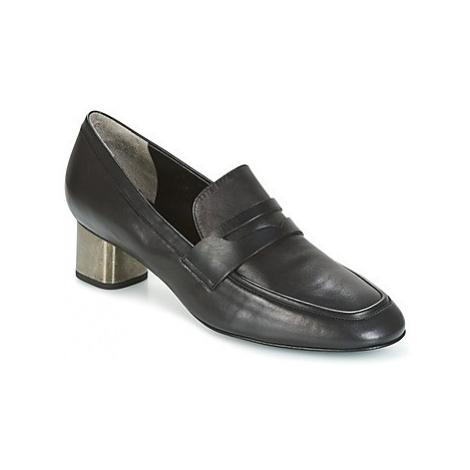 Robert Clergerie POVIA-AGNEAU-NOIR women's Slip-ons (Shoes) in Black