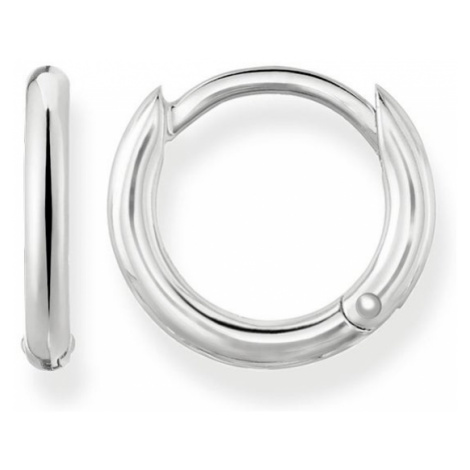 THOMAS SABO Glam & Soul Classic Silver Hoop Earrings
