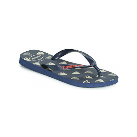 Havaianas TOP NAUTICAL men's Flip flops / Sandals (Shoes) in Blue