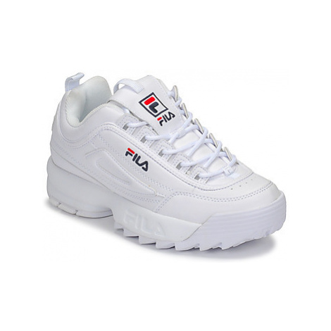 Fila DISRUPTOR LOW WMN women's Shoes (Trainers) in White