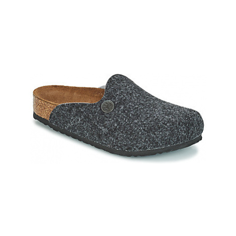 Birkenstock AMSTERDAM boys's Children's Clogs (Shoes) in Grey