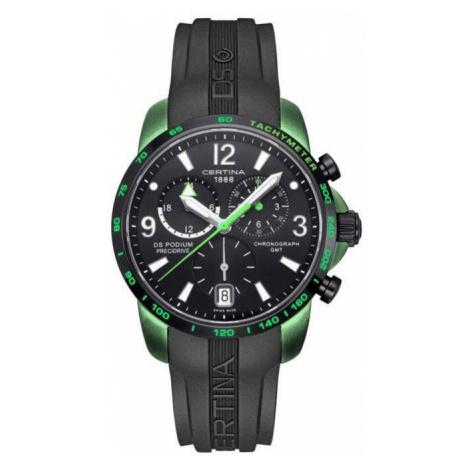 Certina Watch DS Podium Big Size Chrono GMT Aluminium Quartz