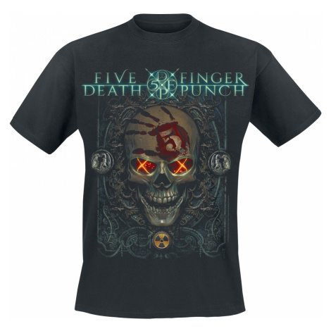 Five Finger Death Punch - Iron Skull - T-Shirt - black