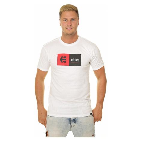 T-Shirt Etnies Eblock - White - men´s