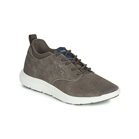 Pepe jeans HIKE SMART men's Shoes (Trainers) in Brown