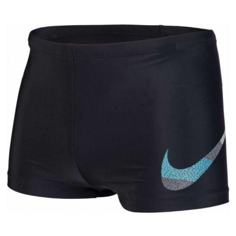 Black men's sports swimwear