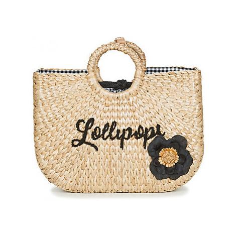 Lollipops DAPAILLE SHOPPER women's Shopper bag in Beige