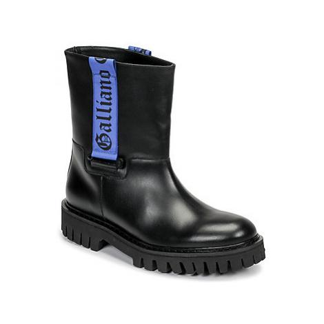 John Galliano 8560 men's Mid Boots in Black