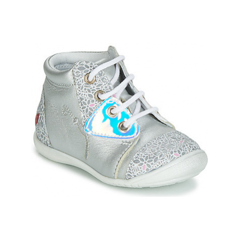 GBB VERONA girls's Children's Shoes (High-top Trainers) in Silver
