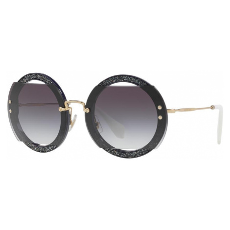 Miu Miu Woman MU 06SS - Frame color: Blue, Lens color: Blue, Size 63-17/140