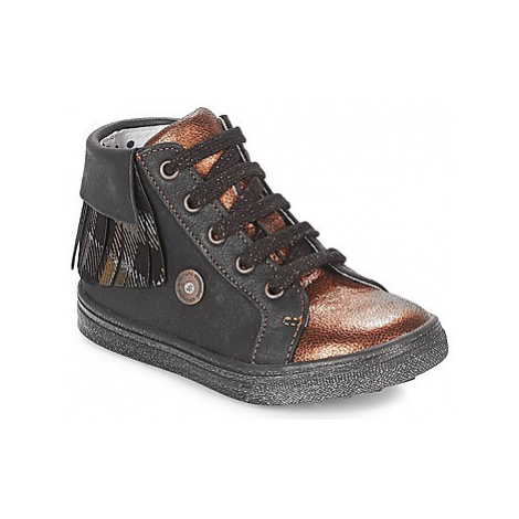 Catimini LOULOU girls's Children's Shoes (High-top Trainers) in Black