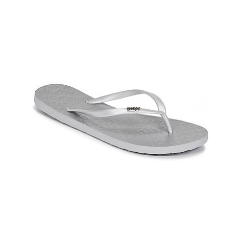 Roxy VIVA IV J SNDL SIL women's Flip flops / Sandals (Shoes) in Silver
