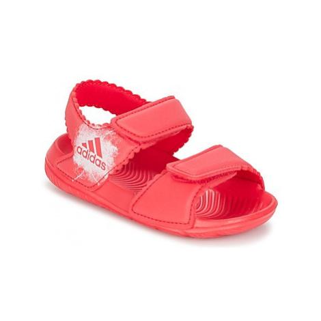 Adidas ALTASWIM I girls's Children's Sandals in Pink