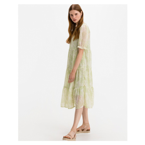 ICHI Samsa Dress Green