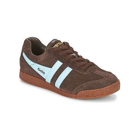Gola HARRIER women's Shoes (Trainers) in Brown